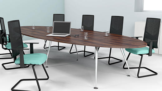 Spire Oval meeting Tables